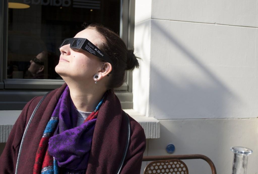 Éclipse et rayon magique à Strasbourg -Pokaa