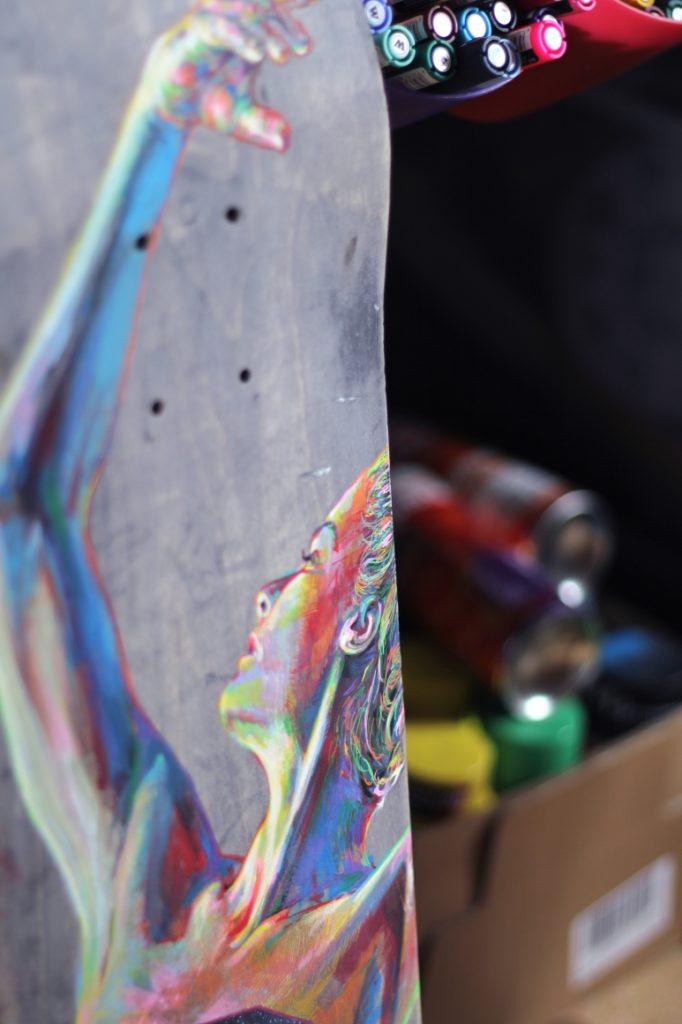 en4ki : portrait haut  en couleur - Pokaa