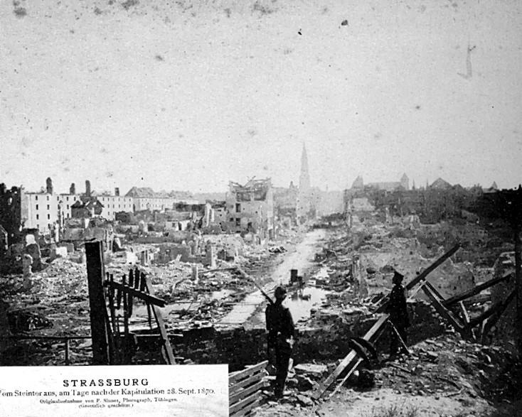 Strasbourg secret : l'obus de la cathédrale - Pokaa