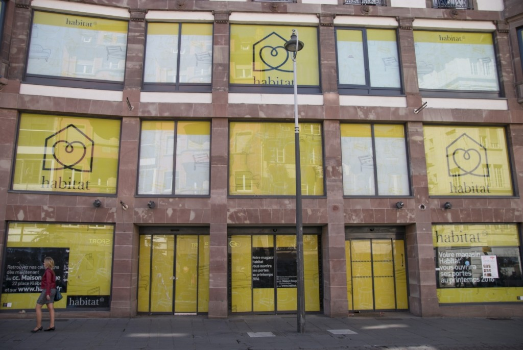 Strasbourg : l'ancien Virgin cède sa place à Habitat - Pokaa