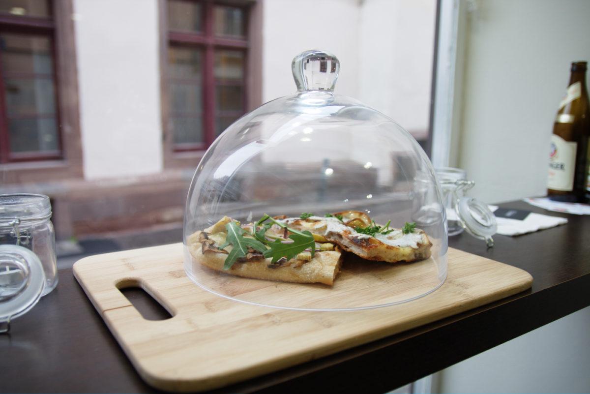 Pizz'arÔme, la première pizzéria 100% végétarienne de Strasbourg - Pokaa