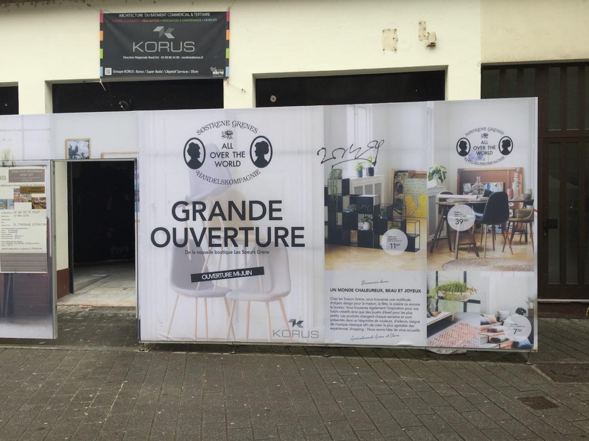 s strene grene la cha ne de d co danoise ouvre un shop au centre de strasbourg. Black Bedroom Furniture Sets. Home Design Ideas