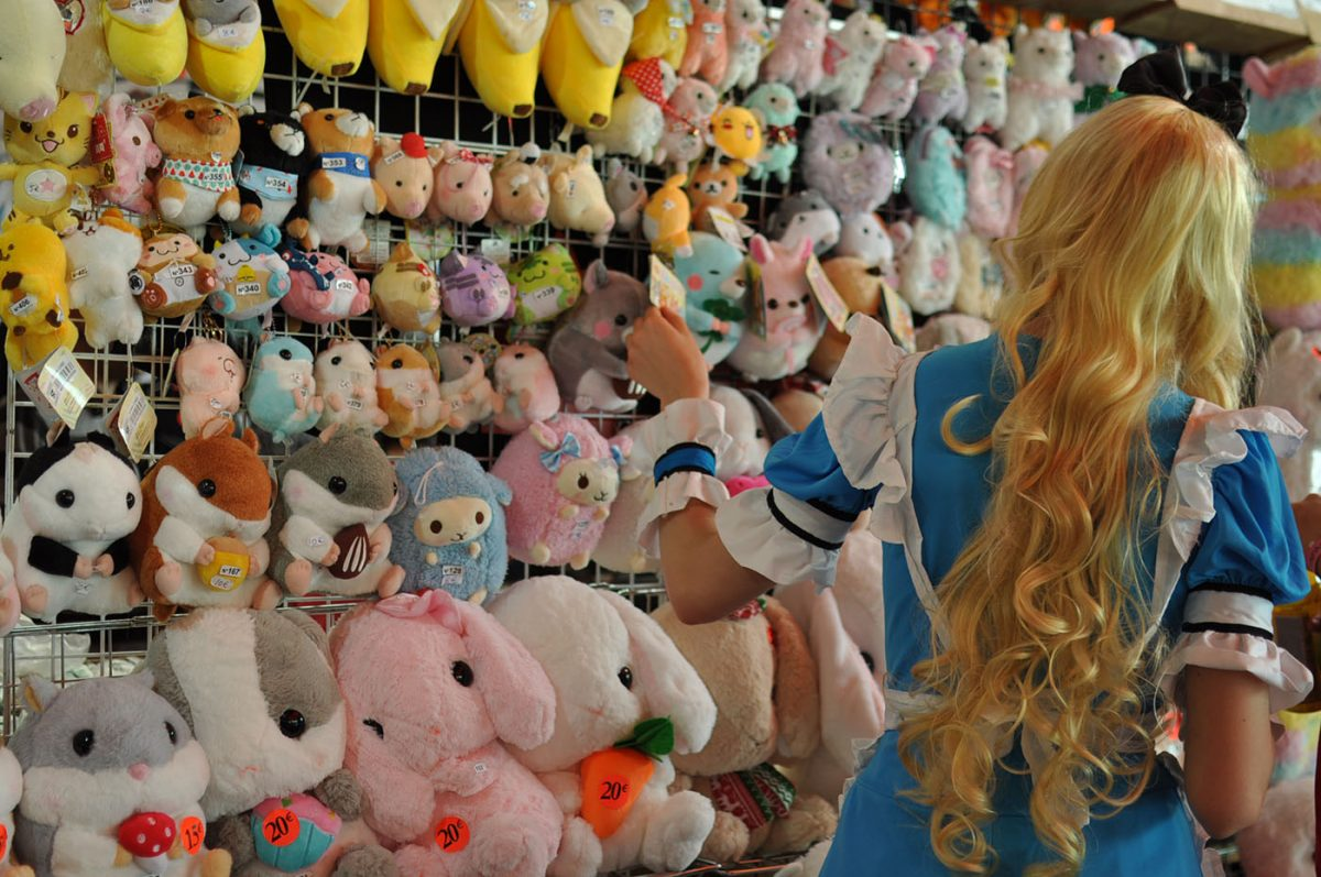 stand peluches