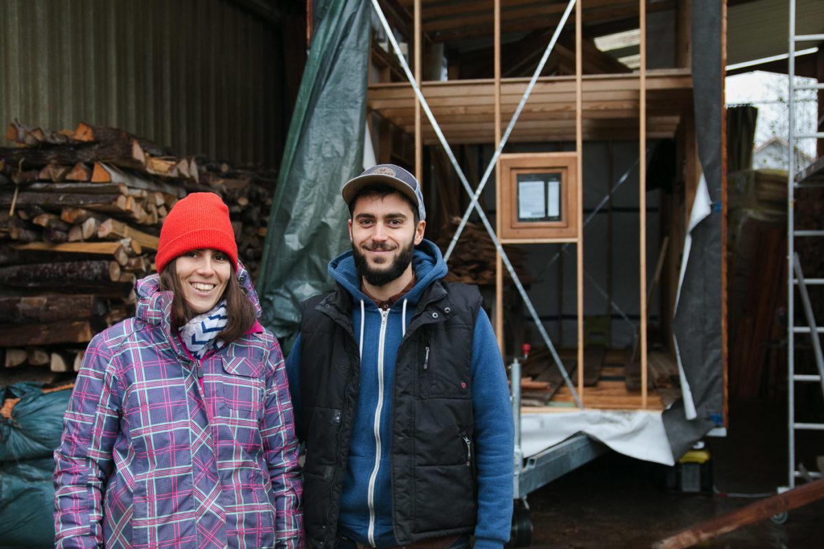Tiny House Prix M2 un couple de strasbourgeois se construit une micro-maison de