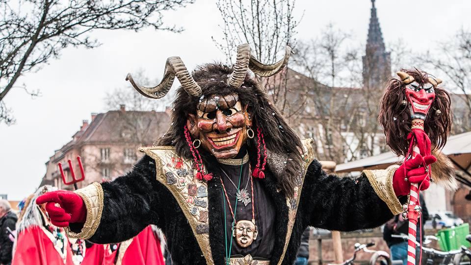 Dans la folie du Carnaval