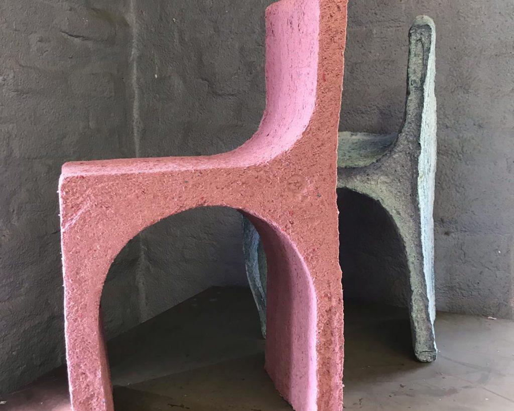 Prototype de chaises en papier