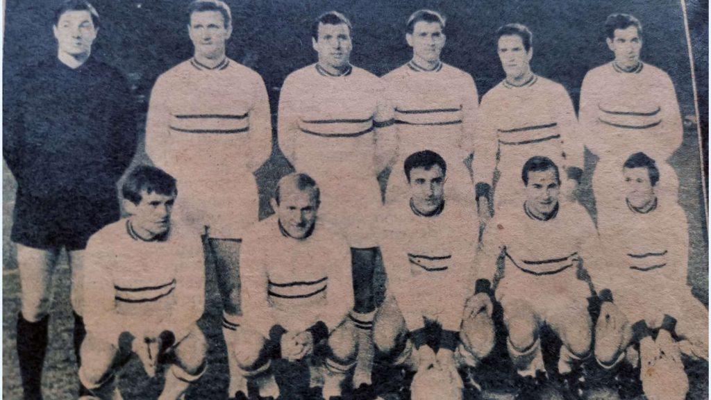 Le Racing Club de Strasbourg version 1964/1965, quand ils sortent le FC Barcelone