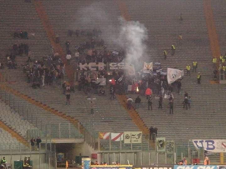 Les supporters strasbourgeois étaient presque 200 pour soutenir leur équipe à Rome. les temps ont changé... et en bien !