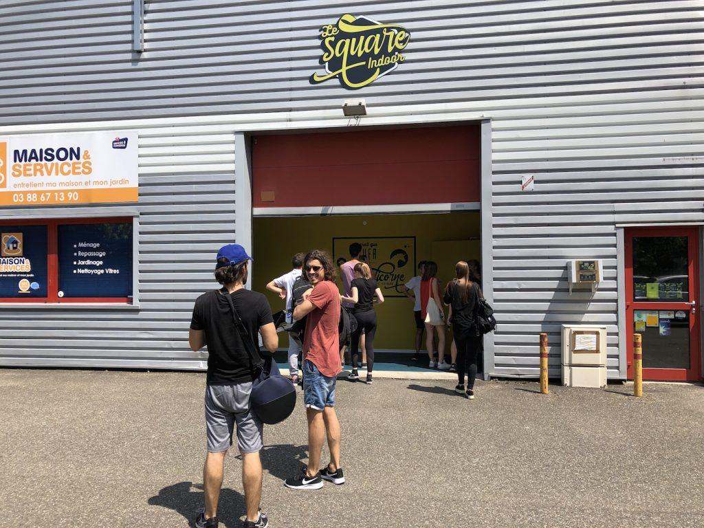 Strasbourg : une salle de jeux gonflables pour adultes vient d'ouvrir ses portes