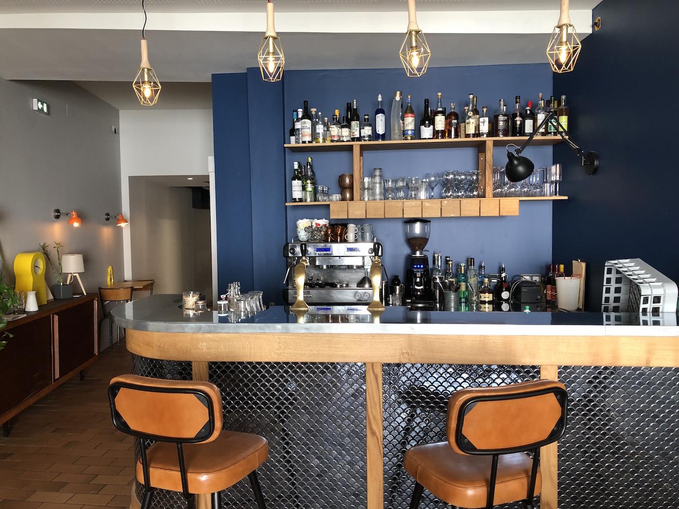 Cuisine ouverte et bar cocktails apr s travaux le Bar cuisine ouverte