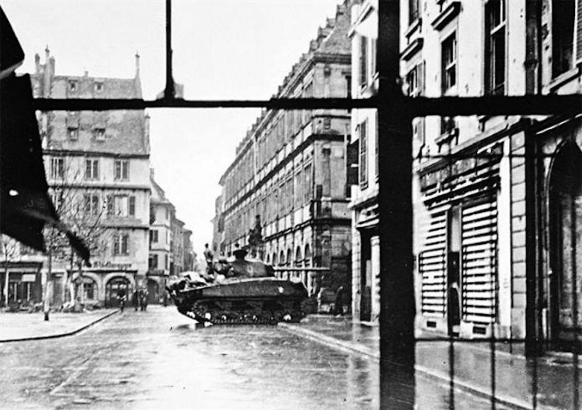 23 novembre 1944 : il y 75 ans, jour pour jour, avait lieu la libération de  Strasbourg