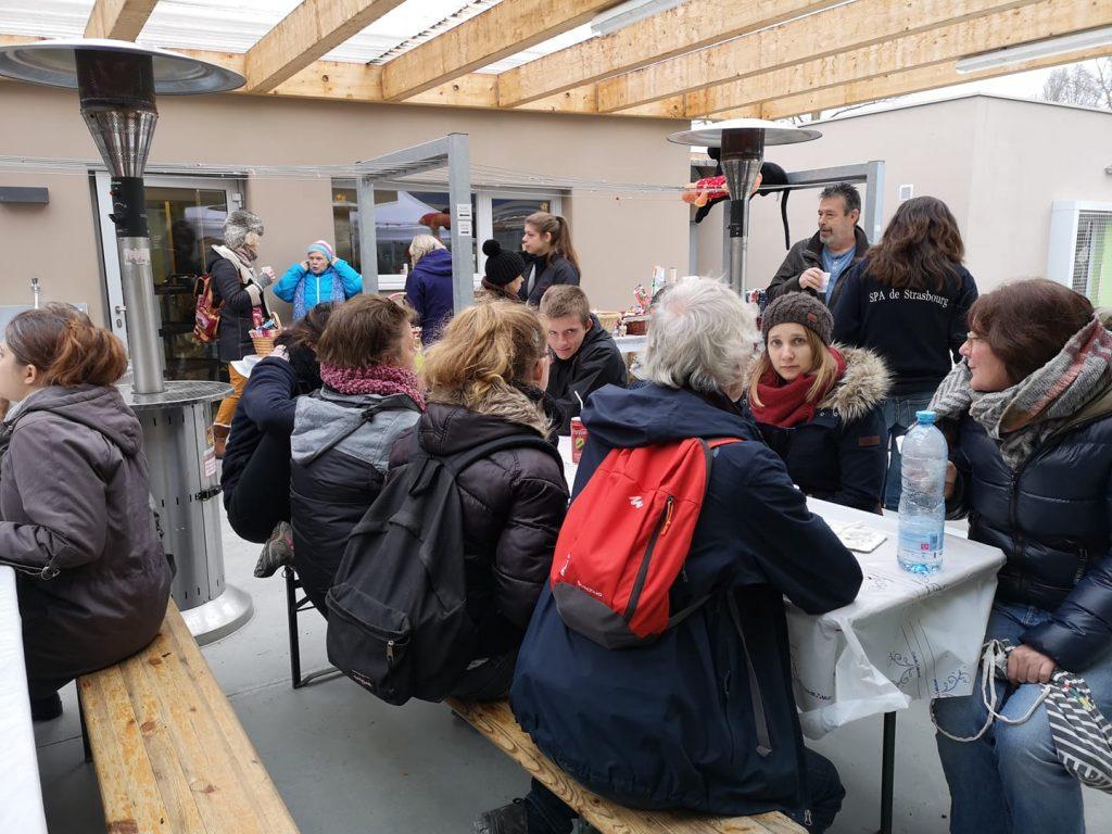 SPA Noel des animaux 2018 crédits spa de strasbourg