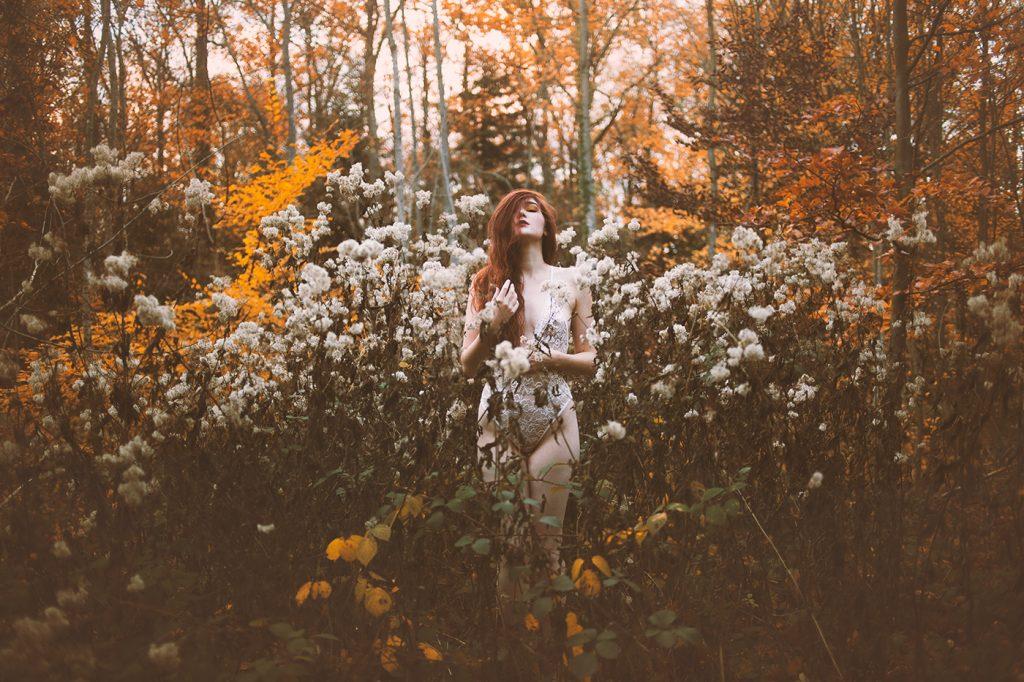 Accalmia, la photographe strasbourgeoise qui donne vie aux légendes féeriques