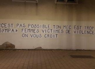 © Loue .D, membre du collectif collages féministes strasbourg