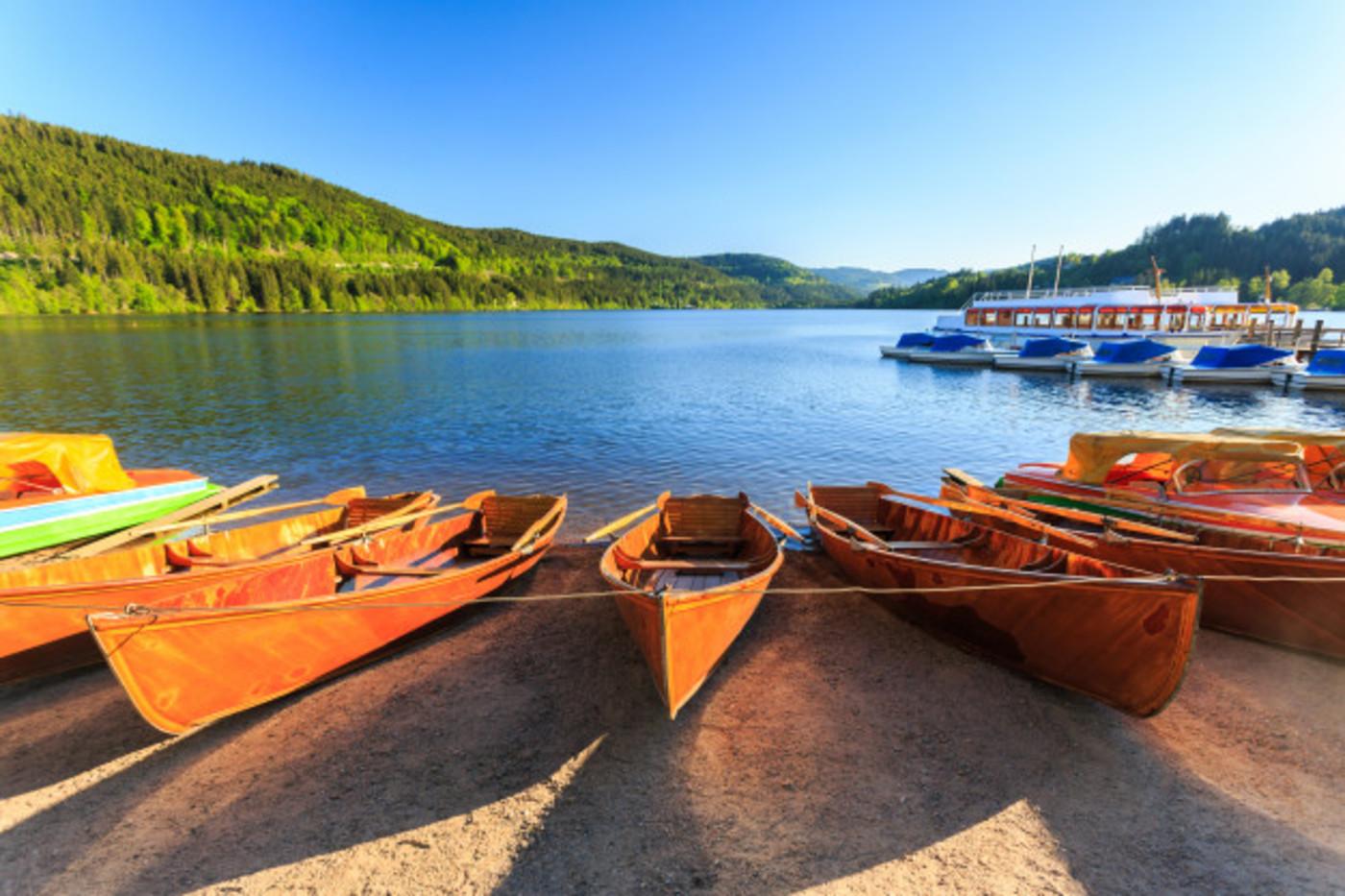 Week-end au vert : tour au Titisee, bateau à voile et randonnée au sommet du Feldberg