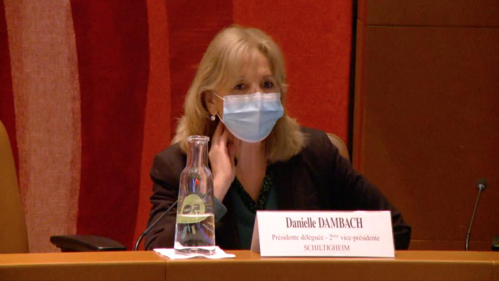 Danielle Dambach, présidente déléguée de l'Eurométropole