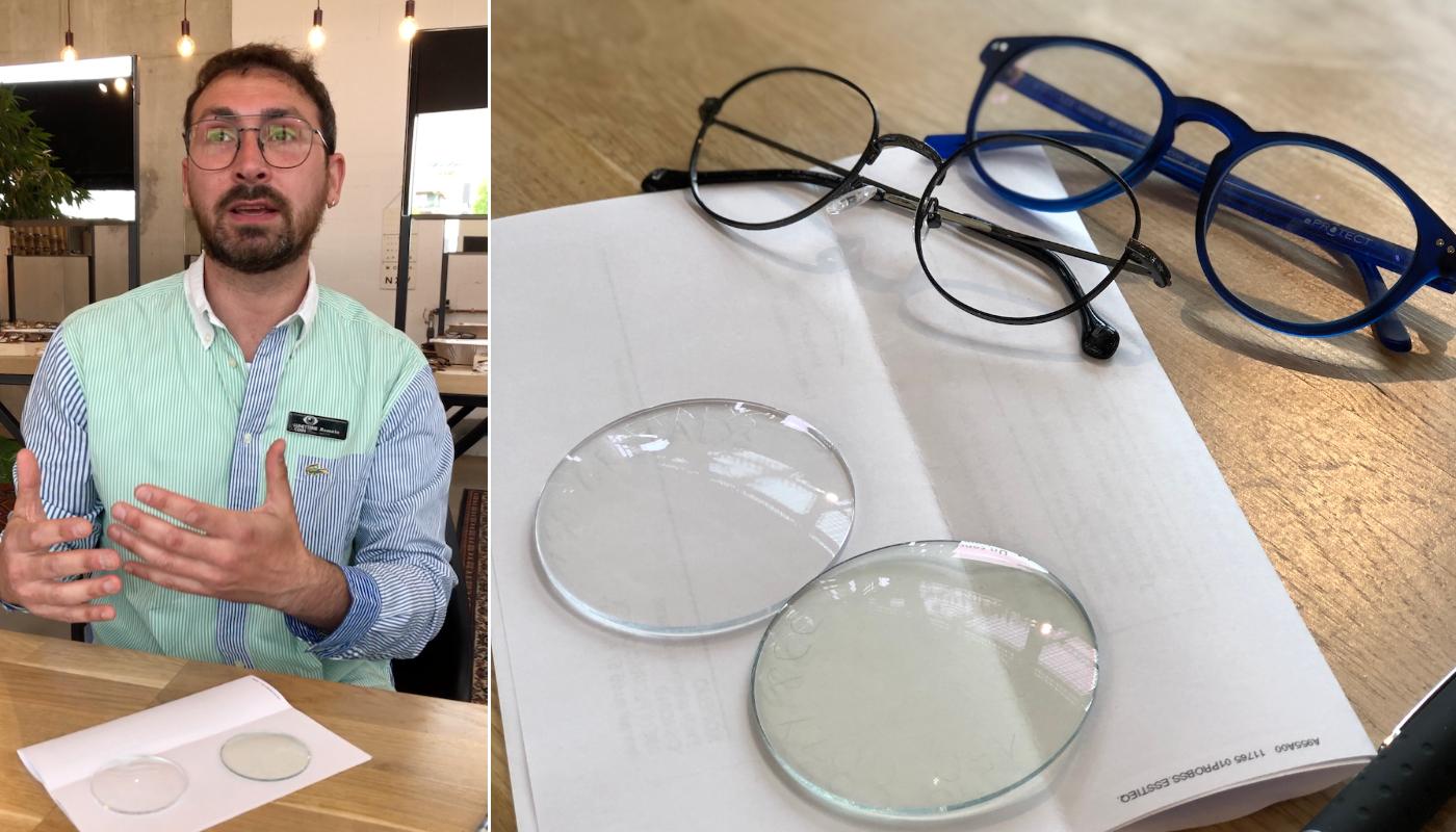 Migraines, insomnies : la solution d'un opticien pour protéger ses yeux des écrans