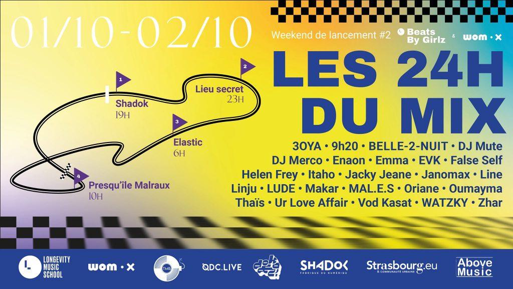 Affiche et programme 24h du mix