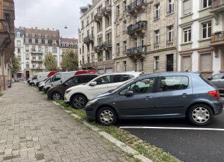 Voitures stationnement