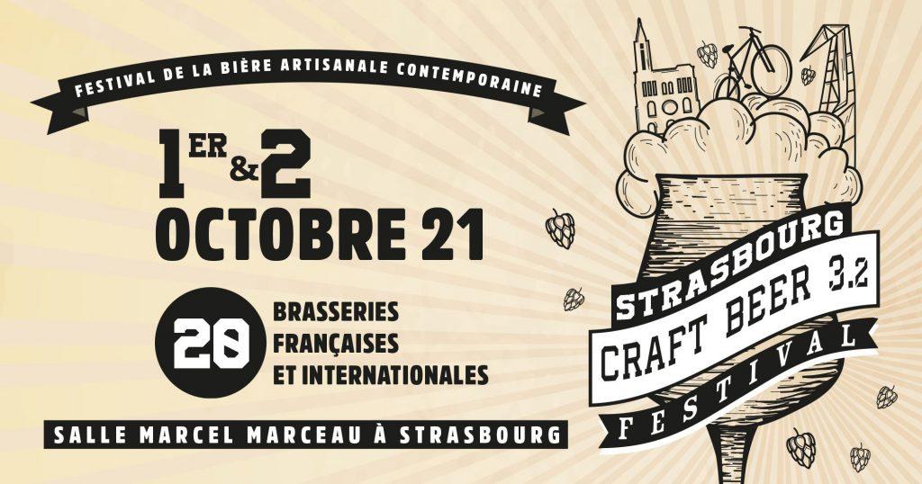 Affiche Strasbourg Craft beer festival