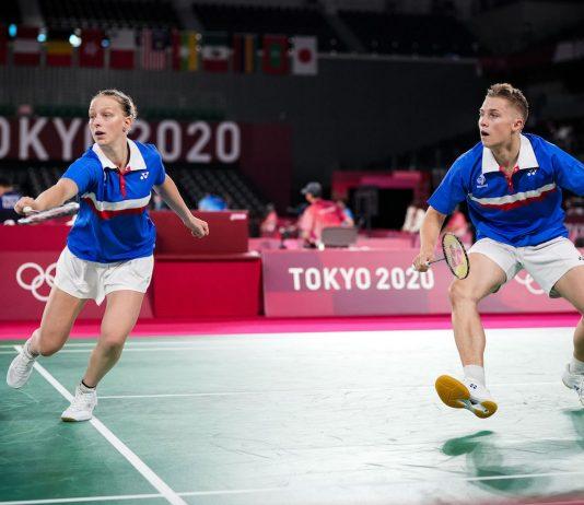 Thom Gicquel et Delphine Delrue en pleine action